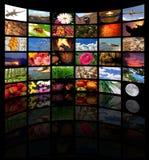 medialny pokój Zdjęcie Stock