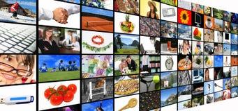 medialny pokój zdjęcia stock