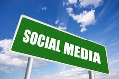 medialny socjalny Obrazy Stock