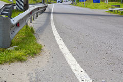 Median strip of road Royalty Free Stock Photo