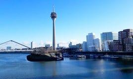 Medianhafen, Düsseldorf Stock Images