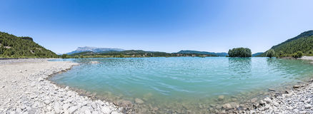 Mediano reservoir at Huesca, Spain Stock Photography