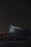 Medianoche en Noruega Foto de archivo