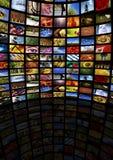 Mediaraum Lizenzfreie Stockfotos