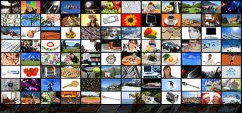 Mediaraum Lizenzfreies Stockfoto