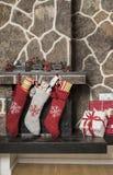 Medias de la Navidad Imagen de archivo