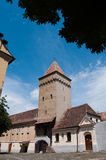 Medias - Lookout Tower. Lookout tower in the city of Medias, Romania, historic architecture Royalty Free Stock Image