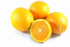 A medias naranja Foto de archivo