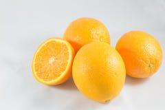 A medias naranja Foto de archivo libre de regalías