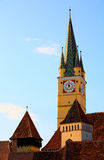Medias Old Church Tower Royalty Free Stock Photos