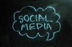 Medias sociaux Photographie stock libre de droits