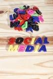 Medias sociaux Photo stock