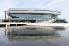 Mediaspace urbano em Aarhus, Dinamarca Fotografia de Stock