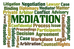 Mediation Royalty Free Stock Image