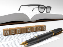 Mediator Royalty Free Stock Photo