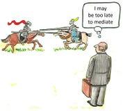 Mediator Stock Image