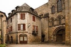 Mediaval town of Beaulieu-sur-Dordogna. Historic mediaval town of Beaulieu sur Dordogna, France royalty free stock image