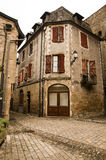 Mediaval town of Beaulieu-sur-Dordogna Stock Photography