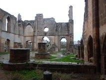 mediavel哥特式教会废墟famagusta的 免版税库存图片