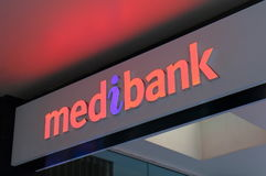 Medibank Australia. Medibank is Australia`s largest health insurance provider with 3.6 million members, 30% of the market royalty free stock photos