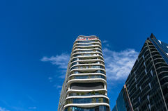 Medibank building near Southern Cross station in the Docklands Stock Photo