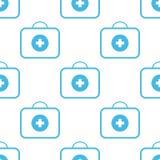 Medic bag seamless pattern Stock Images