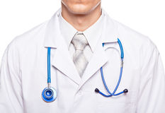 Medic doctor close up Royalty Free Stock Image