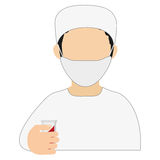 medic or doctor icon Stock Photography