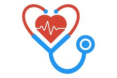 Medic logo dsign vector. Concept Royalty Free Stock Images