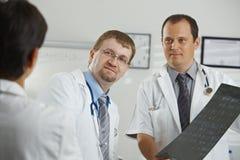 Medica o diagnóstico consluting foto de stock royalty free