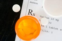 Medicación de Presciption Fotos de archivo libres de regalías