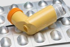 Medicación del asma Imagen de archivo