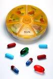 Medicación diaria Imágenes de archivo libres de regalías