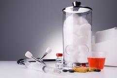 Medicaciones Fotografía de archivo