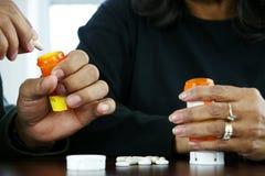 Medicaciones Imagen de archivo libre de regalías