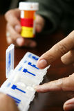 Medicaciones Foto de archivo