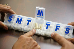 Medicaciones Foto de archivo libre de regalías