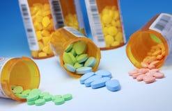 Medicaciones de la prescripción Imágenes de archivo libres de regalías
