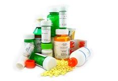 Medicaciones de la prescripción y del Non-Prescription Fotografía de archivo libre de regalías