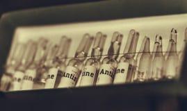 Medicaciones del vintage Foto de archivo libre de regalías