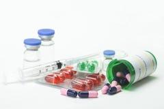 Medicaciones frías imagen de archivo libre de regalías