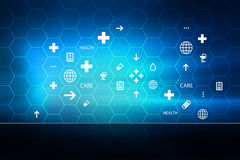 Medical Abstract Background Concept Series 29 royalty free illustration