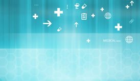 Medical Abstract Background Concept Series Royalty Free Stock Photos