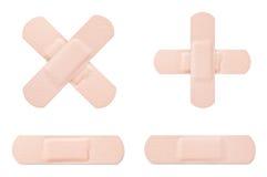 Medical adhesive bandage Royalty Free Stock Photos