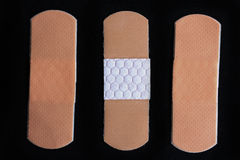 Medical adhesive bandage Stock Images