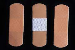 Medical adhesive bandage Stock Images