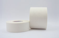 Medical adhesive tape. On white background stock images