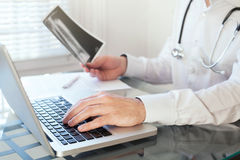 Medical advice online Royalty Free Stock Images