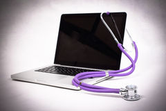 Medical advice online Stock Photos