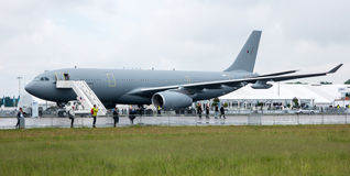 The medical aircraft Airbus A310-304 MRTT MedEvac August Euler Royalty Free Stock Photo